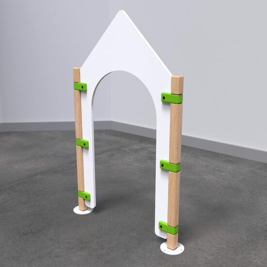 Op deze afbeelding staat speelhek Fence gate