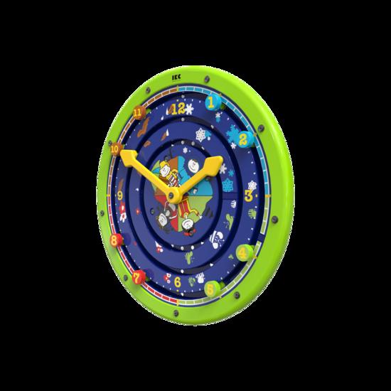 draaiend speelwiel leren klokkijken | IKC wandspellen muurspellen