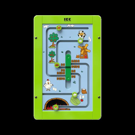 maak een appeltaart met dit sorteerspel voor aan de wand | IKC wandspellen muurspellen