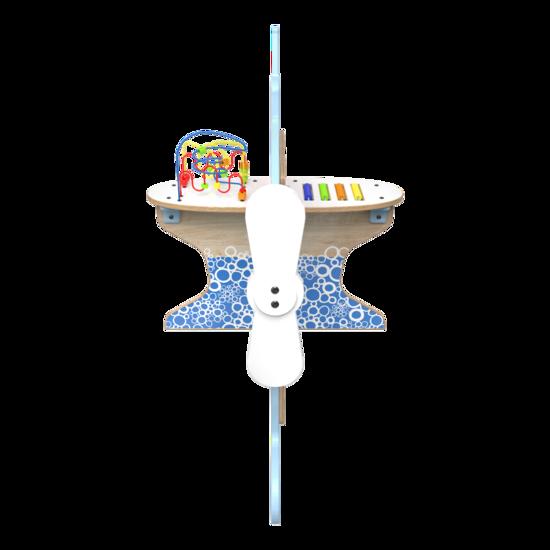 De splash down is een vliegtuig speelsysteem met verschillende speelelementen | IKC speelsystemen