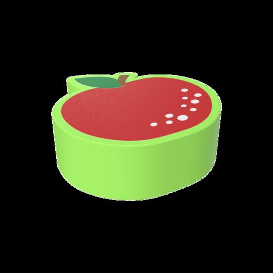 De Softplay Apple is een handgemaakt zacht zitmeubel voor uw kinderhoek