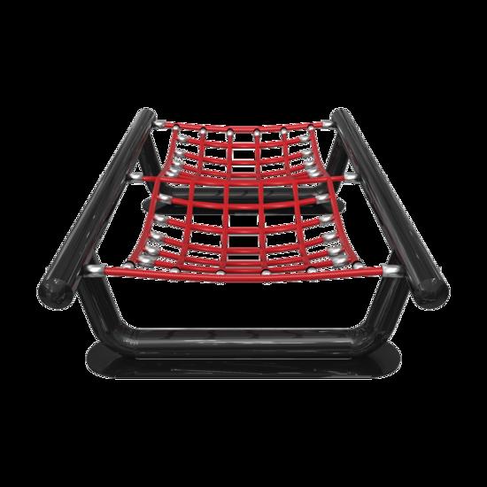 Touwbrug voor een kinderhoek   IKC speelvloeren en speelwanden