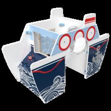 Het speelsysteem All Aboard is een vrijstaand element voor in een kinderhoek   IKC Speelsystemen