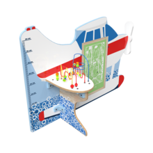 Op deze afbeelding staat een splash down vliegtuig speelsysteem | IKC speelsystemen