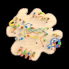 Spelenderwijs de fijne motoriek verbeteren met de kralentafel   IKC Speelsystemen
