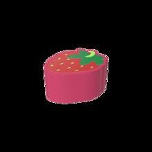 De Softplay Strawberry is een handgemaakt zacht zitmeubel voor uw kinderhoek