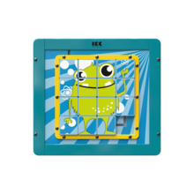Houten schuifpuzzel voor kinderen | IKC wandspellen en muurspellen voor kinderen