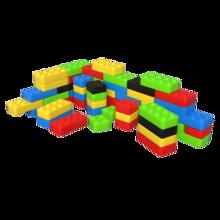 Speelblokken bouwstenen om te stapelen